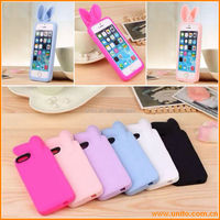 best popular silicon rabbit phone cover case for iphone 5