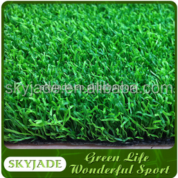natual looking tennis courts with synthetic grass