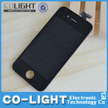 mobile phone lcd for iphone 4/4s lcd touch screen replacement with free DHL shipping