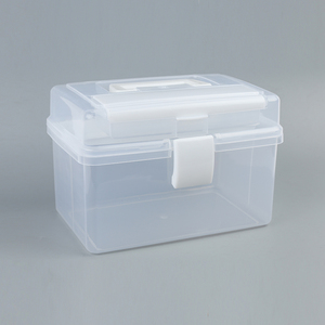 Hot sale large capacity contains dummy plate waterproof tool box
