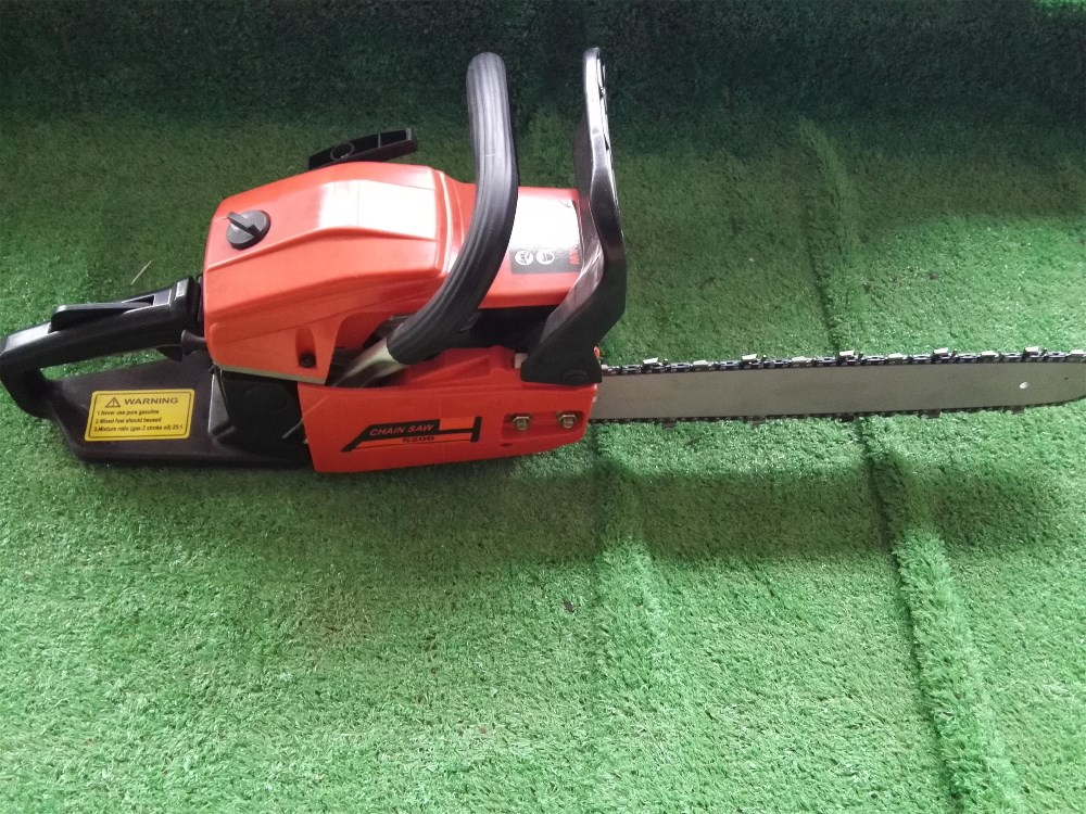 KINGCHAI 45cc 52cc 58cc Garden Gasoline ChainSaw 5200 5800 Cutting Petrol Chainsaw