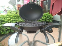 Japanese and Korean Style of LP Propane Gas BBQ Grill with Folable Legs