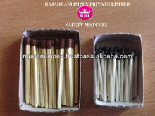 Export Quality Safety Wax matches