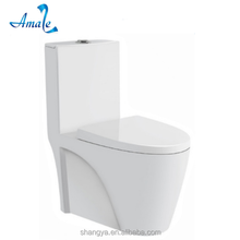 Chaozhou sanitaryware manufactuer dual flushing colored ceramic wc toilet with slow down seat cover