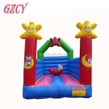 Starfish inflatable castle jumper, baby inflatable jumping castles for sale
