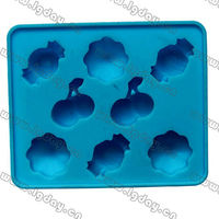 various design fruit/candy silicone ice cube mould