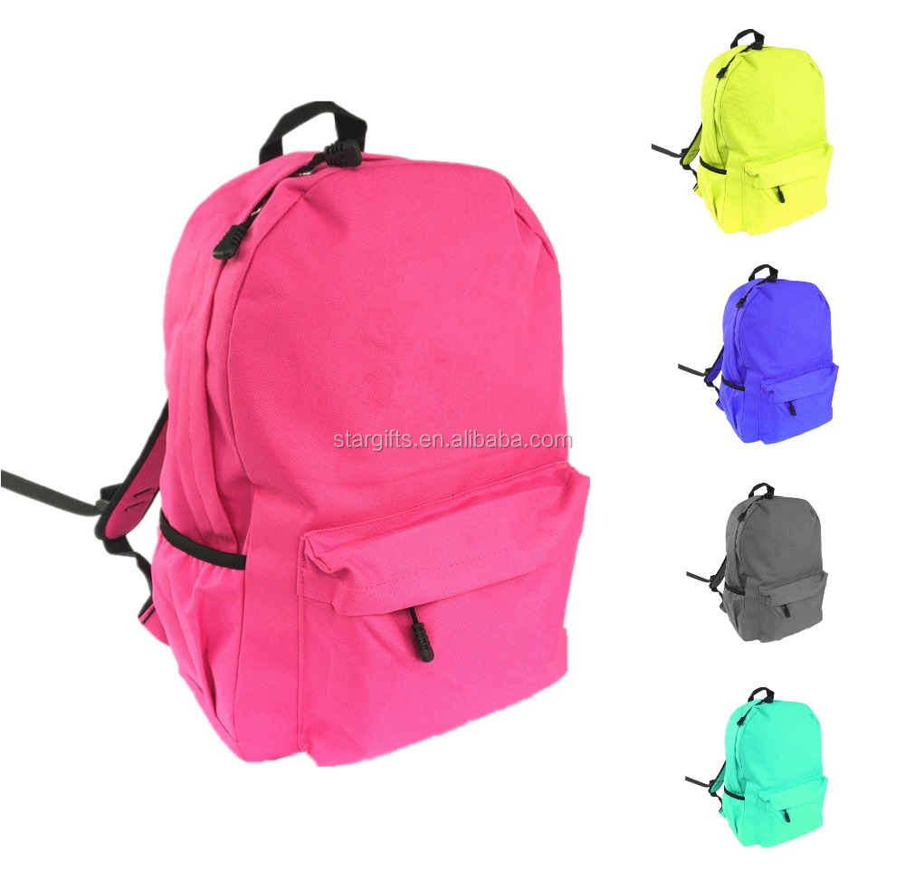 Custom Wholesale Small-capacity Polyester Kids School Backpack