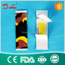 High quality fire and safety adhesive bandage/round wound plaster/first aid plster