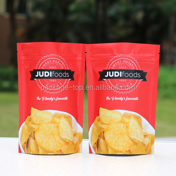 China Supplier Doypack Brown / White Paper Food Powder Packaging Bag