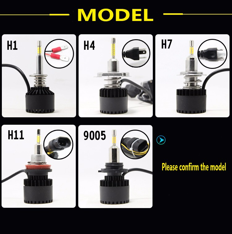 20w 40w h11 h1 h4 LED headlight day time running light