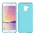 clear Transparent soft mobile phone case for Samsung A7 2018 A730 tpu back cover