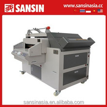 sansin service 10 in 1 crystal album hard binding cover machine