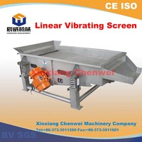 Linear Dewatering Screen / Dewatering Vibrating Screen