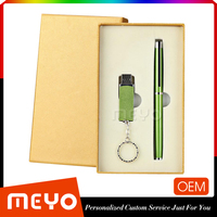 Customize Gifts USB 2.0 Metall Flash Drive And Metel Ball Pen