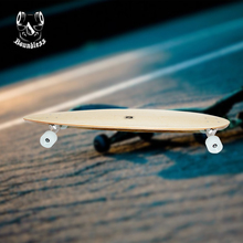 Custom size canadian maple longboard with abec-7 skateboard bearings