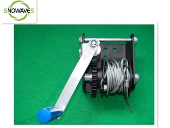 SNOWAVES 2015 best sell worm gear hand winch