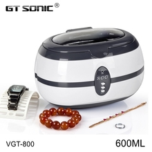 GT SONIC Professional jewelry glasses denture ultrasonic cleaner coin washing machine