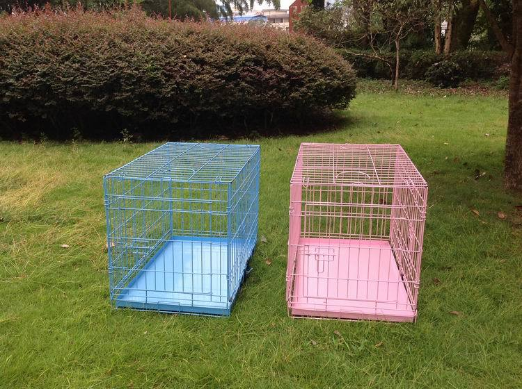 Metal Wire Folding Dog Cage Crate