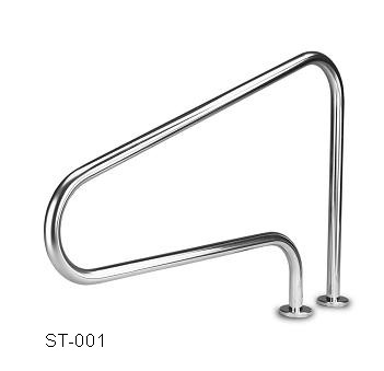 2017 HOT swimming pool accessories high quality handrail stainless steel pool stair