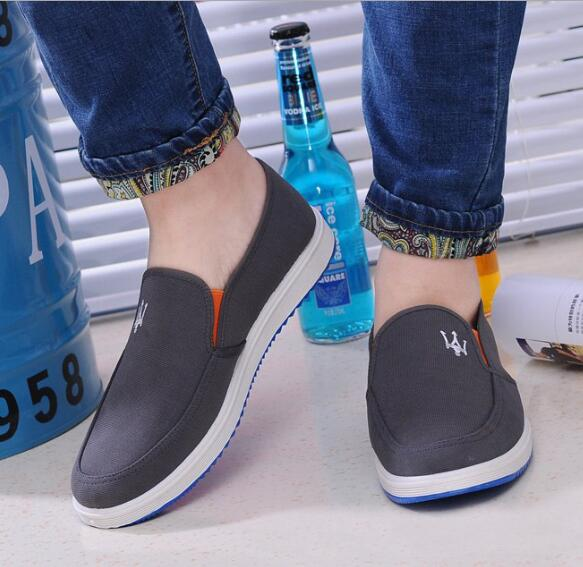 zm50904a 2017 new arrival china canvas shoe slip on mens canvas no lace shoes