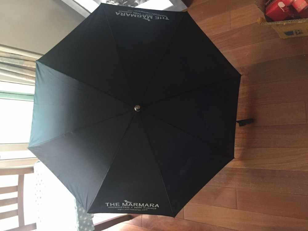 J1002 EVA Handle Double Layer Inside Printed Promotion Cloud Umbrella