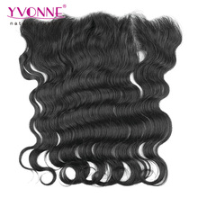 Different Types Pre Plucked Body Wave Brazilian Hair Pieces Frontals