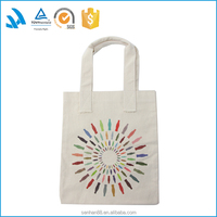 Standard size fashion cotton canvas tote bag for shopping