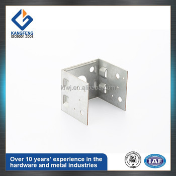 Construction Usage Fiexible Small Galvanised Brackets