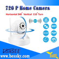 720p home baby wifi ip camera with10m ir distance built in 3.6mm fixed lens support Support Two-way voice intercom