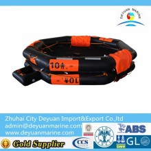 10 persons open-reversible inflatable life raft for sale