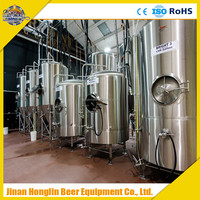 Commercial Beer Brewery Equipment Turnkey Project