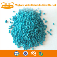 Agrochemicals Blue Color Granular Ammonium Sulphate Fertilizer
