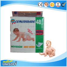 High Quality Cotton Top sheet Pants Baby Diaper