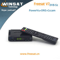 MPEG4 useful DVB-S2 Freesat V7 Full 1080P hd Free to air digital satellite receiver software download