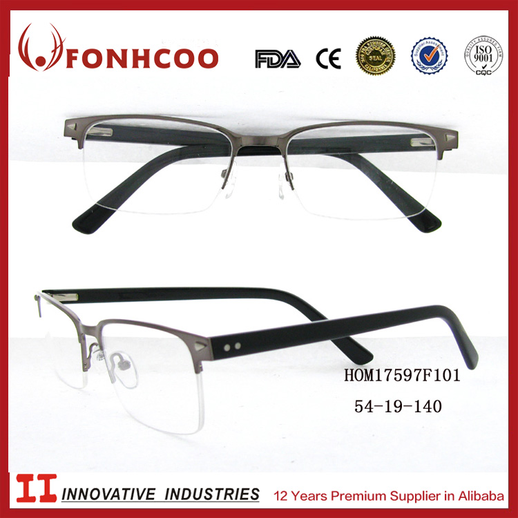 FONHCOO Hot Sale New Design Customized Lightweight Metal Glasses Optic Frame