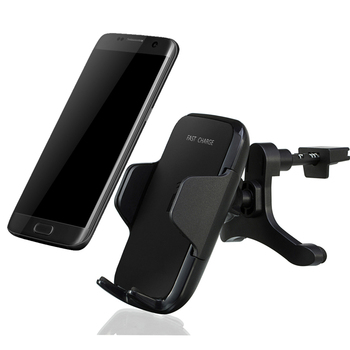 new fast charge qi 10W wireless car charger mount