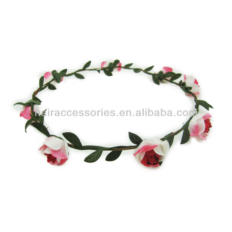 flower and leafage garland