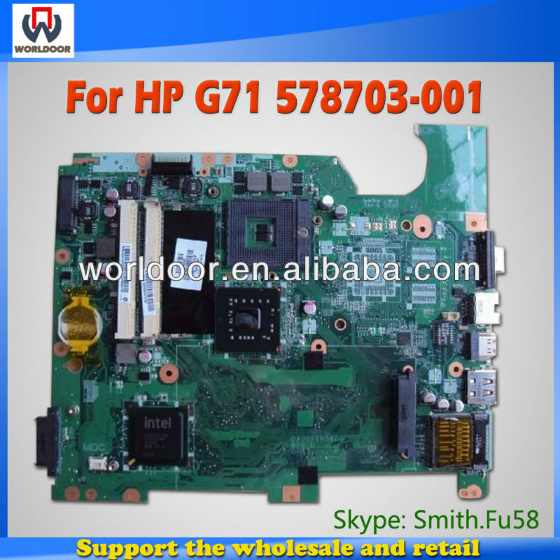 High Quality 578703-001 For HP G71 Motherboard , System Board, Mainboard 100% Tested