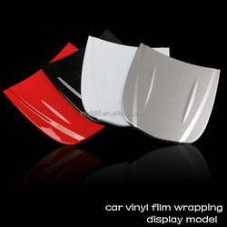 Car vinyl film wrapping new display model for car sticker application display