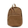 Khaki Canvas Quality School Backpack for Boy