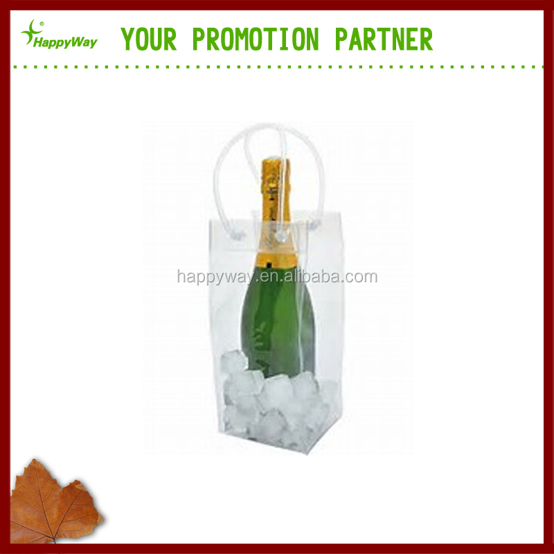Promotional PVC Wine Bottle Bag