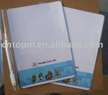Promotional fridge magnet memo board with pen and wipe off in shanghai