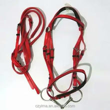 high quality PVC horse bridle/halter bridle/saddlery/equestrian