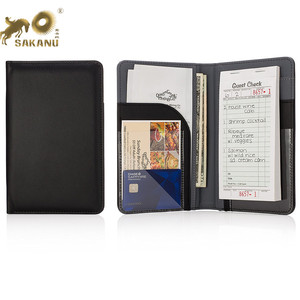 Premium Server Book & Waiter Book Organizer -- Holds Guest Checks & Server Pads for Waiters