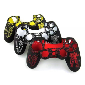 Transformers Silicon Protective Case for PS4 controller