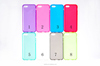 Matte Protective Back Cover Mobile Phone Soft TPU Cover for iPhone 5C