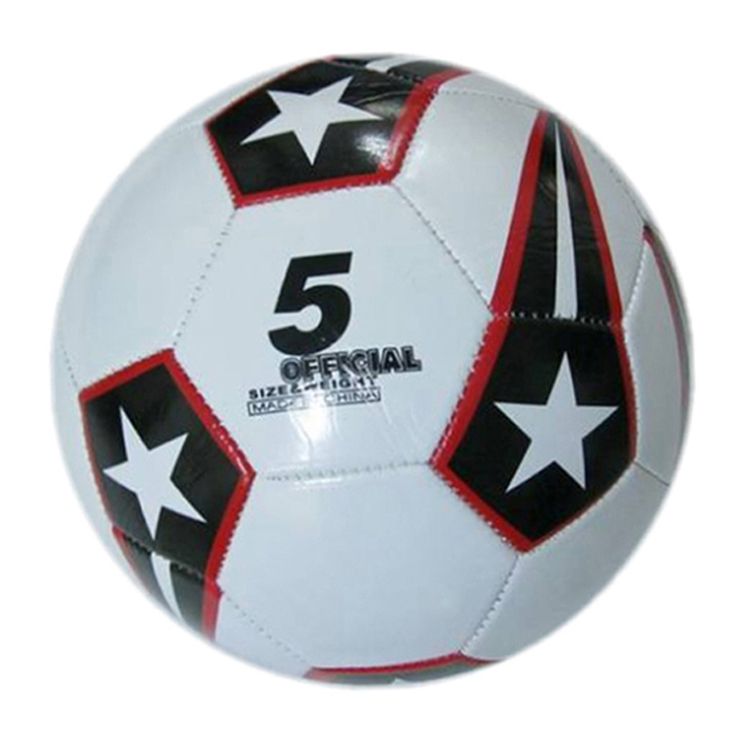 Top quality cheap price nice looking machine stitching size 5 PVC football soccer,antique leather soccer ball