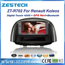 ZESTECH Hot Selling central multimidia for Renault Koleos car DVD GPS, stereo radio