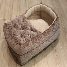 Newest Customized Cotton Material Elevated Luxury Large Pet Dog Bed