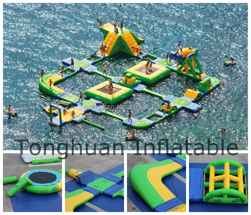 Giant inflatable water park/ inflatable water sports rides